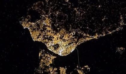 Astronauta capta Lisboa vista do espaço