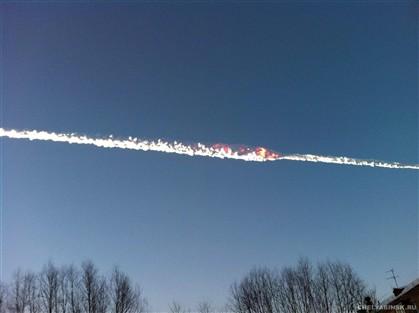 Meteorito que fez quase mil feridos caiu a 30 km/segundo