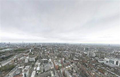 Foto de 'hiper resolução' mostra Londres a 360º