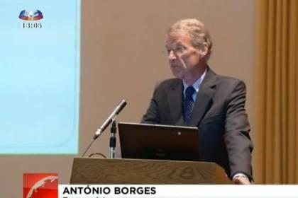 António Borges critica Governo e defende os mais pobres