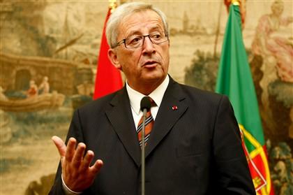 Jean-Claude Juncker em Lisboa