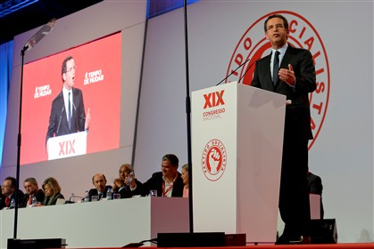 António José Seguro discursa no congresso