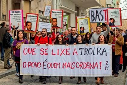 Que se lixe a troika dans Portugal