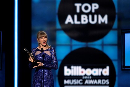 Taylor Swift domina Pr�mios Billboard 2013