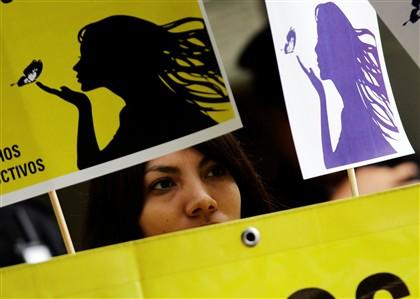 Manifestação de apoio a Beatriz, a jovem salvadorenha impedida de abortar por razões médicas