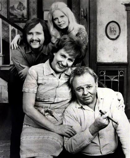Morreu a mulher de Archie Bunker
