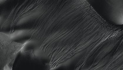 Gelo seco pode ter provocado sulcos nas dunas de Marte