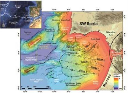 Descoberta fratura tectónica ao largo da costa