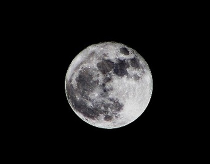 Lua cheia vai estar no domingo maior e mais brilhante