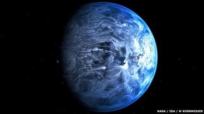 Afinal há outro planeta azul