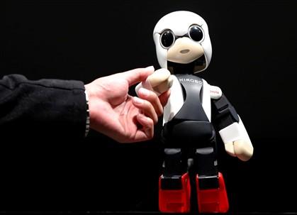 O robot é inspirado na personagem de manga Astro Boy