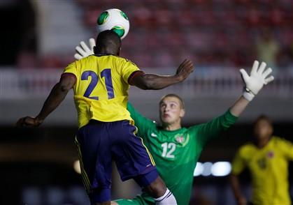 Jackson decisivo na vitória da Colômbia ante a Sérvia