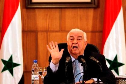 "Síria vai defender-se com ""meios surpreendentes"""