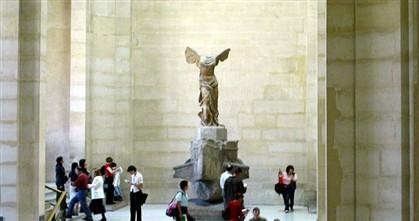 """Louvre pede doações para restaurar """"Vitória de Samotrácia"""""""