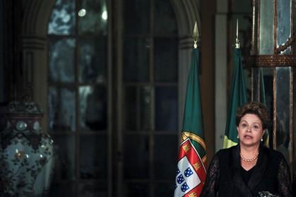 A Presidente do Brasil Dilma Roussef
