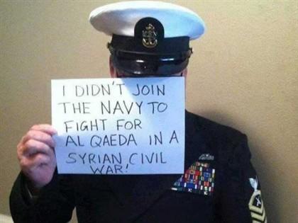 Fotos fazem crer numa revolta de militares americanos