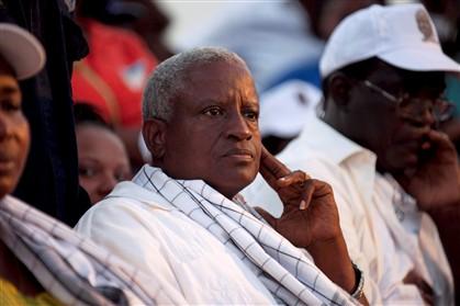 Serifo Nhamadjo, presidente de transição da Guiné-Bissua