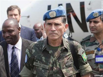 General brasileiro pacifica o Congo