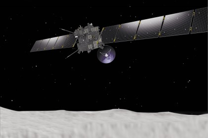 Sonda europeia vai pousar num cometa