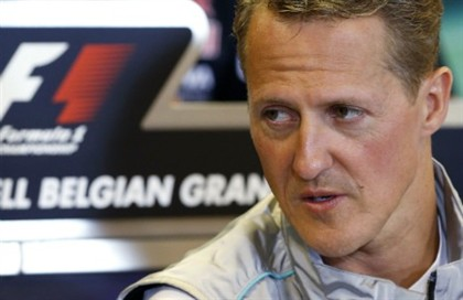 Michael Schumacher sofre grave acidente nos Alpes