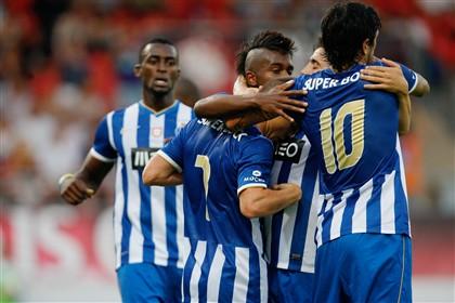 FC Porto encerra estágio com triunfo ante o Marselha