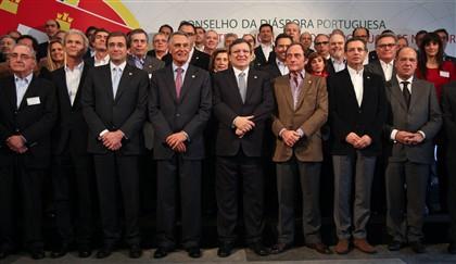1.º Encontro Anual do Conselho da Diáspora Portuguesa, no Palácio da Cidadela em Cascais. Várias conselheiros e governantes Portugueses residentes tanto no país como no estrangeiro são esperados hoje para este encontro.