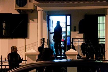 Esta noite três homens barricaram-se numa habitação em Montemor-o-Novo