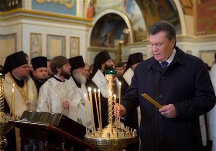 Presidente ucraniano de baixa devido a doença respiratória