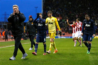 Stoke bate Manchester United 30 anos depois