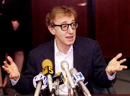 Woody Allen na época em que o caso foi inicialmente divulgado