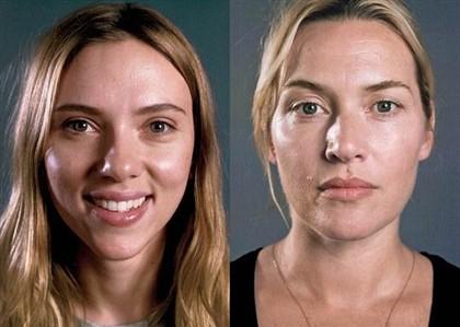 Scarlett Johansson tem 29 anos e Kate Winslet tem 38