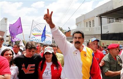 Nicólas Maduro, Presidente da Venezuela