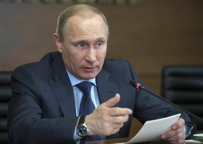Putin na lista dos nomeados para prémio Nobel da Paz