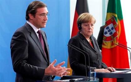 Merkel desvaloriza divisões entre Passos e Seguro