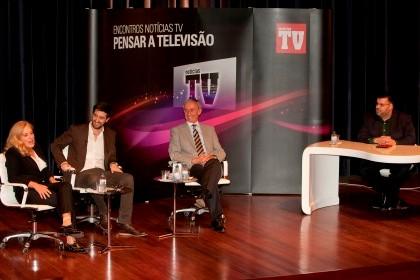"""""""Encontros Notícias TV - Pensar a Televisão"""" Ng3139104"""