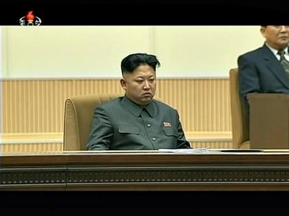 Kim Jong-un lidera a Coreia do Norte desde dezembro de 2011