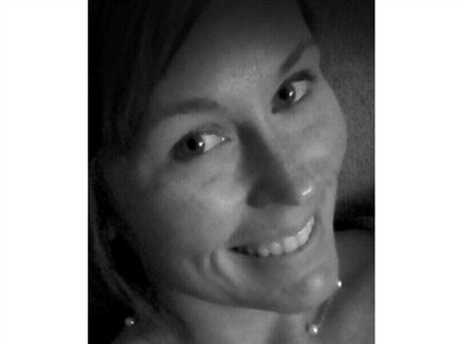 Uma das 'selfies' que Courtney Sanford publicou no Facebook enquanto conduzia