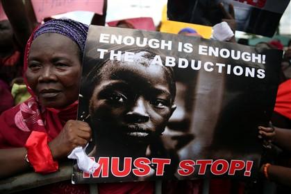 População da aldeia de Chibok pediu a libertação das meninas