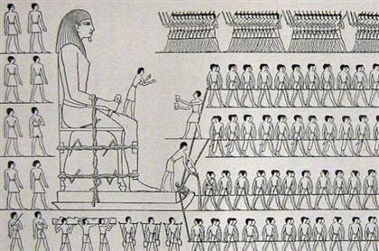 Segredo dos egípcios seria um pouco de água