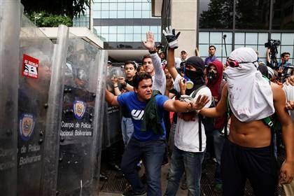 Oposição anunciou suspensão do diálogo por causa da repressão