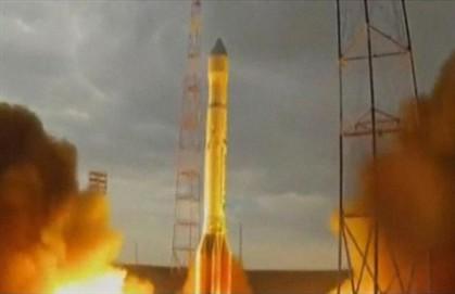 Foguetão russo despenha-se pouco depois do lançamento