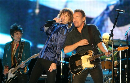 O dueto dos Stones com Springsteen
