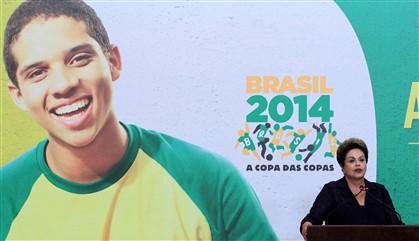 """""""O Brasil, como o Cristo Redentor, está de braços abertos"""""""