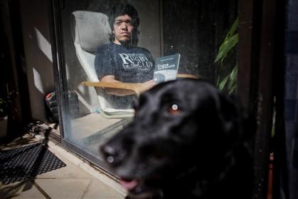 Ricardo Teixeira perdeu a visão aos 18 anos - Lusa