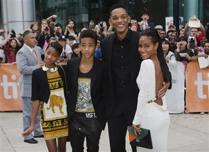 Willow e Jaden são os dois filhos de Will e Jada Smith