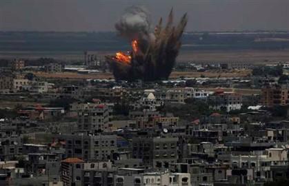 Israel bombardeou durante a madrugada alvos na Faixa de Gaza relacionados com o movimento radical islâmico Hamas