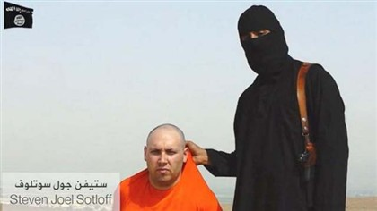 Steven Sotloff � mostrado no v�deo da decapita��o de James Foley