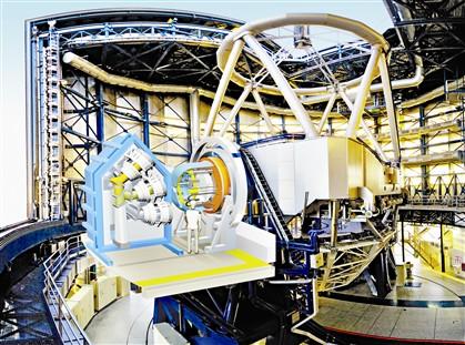 Portugueses constroem telescópio que vê mil galáxias