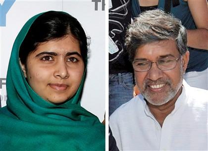 Nobel da Paz entregue a Malala e Kailash Satyarthi