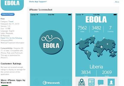 Empresa portuguesa cria aplicação que segue a epidemia do ébola
